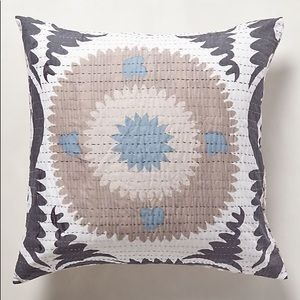 Anthropologie Yalova Euro Sham Pillow Set of 2